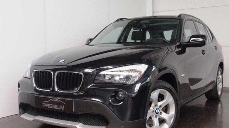 BMW X1 S DRIVE 18 D - Zwart