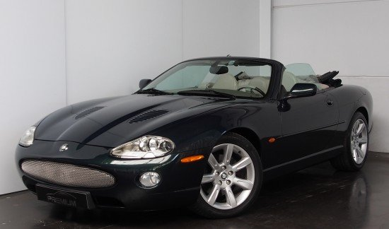 Jaguar XK8 JAGUAR XK8 CABRIOLET 4.O - V8 ESSENCE AUTOMATIQUE / GPL