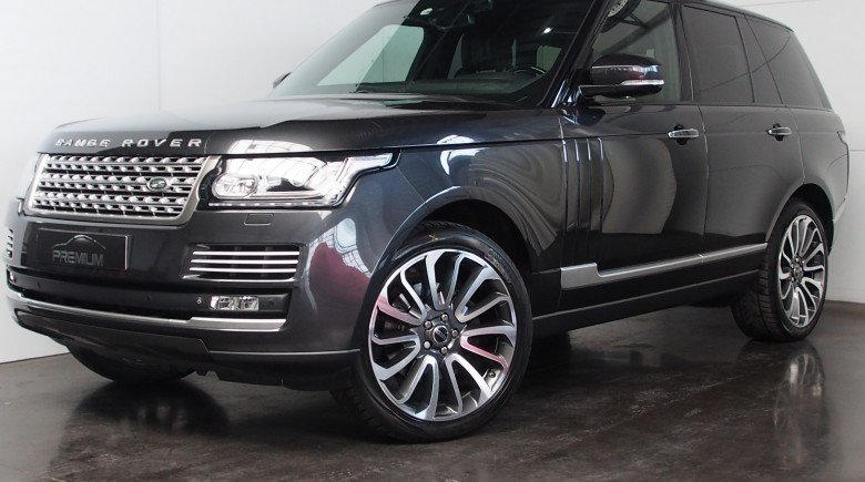 Land Rover Range 127 3.0TDV6 AUTOBIOGRAPHY CAUSEWAY GREY 22INCH STYLE707 FULL OPTION