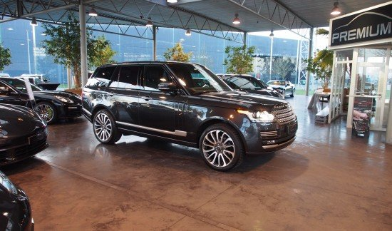 Land Rover Range 127 3.0TDV6 AUTOBIOGRAPHY CAUSEWAY GRIS 22INCH STYLE707 FULL OPTION