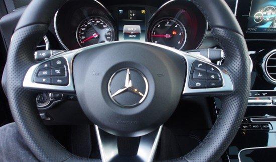 Mercedes GLC 220 220 D 4 MATIC OBSIDIAAN ZWART AMG LINE