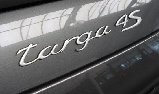 997 4S TARGA GRIJS