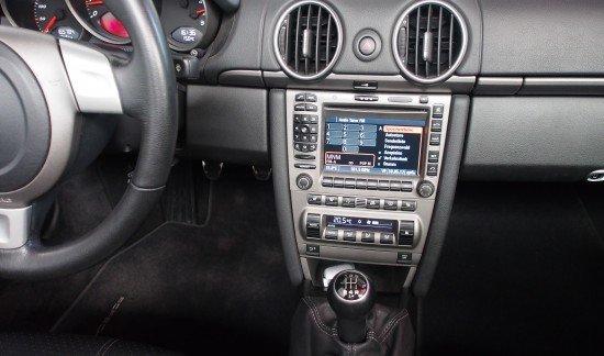 Porsche Boxster 987 ZWART LEDER NAVI XENON