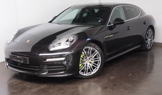 Porsche  E HYBRID 416PK ZWART LED FULL LEDER CHRONOPACK SUNROOF