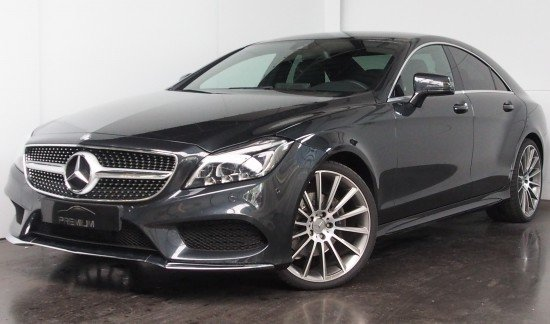 Mercedes CLS 220 AMG PACK MULTIBEAMLED COMMAND GPS ZWART