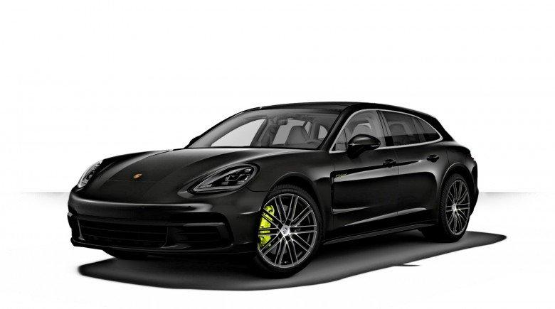 Porsche Panamera 4 E HYBRID SPORT TURISMO VOLCANGREY 21INCH CARBON