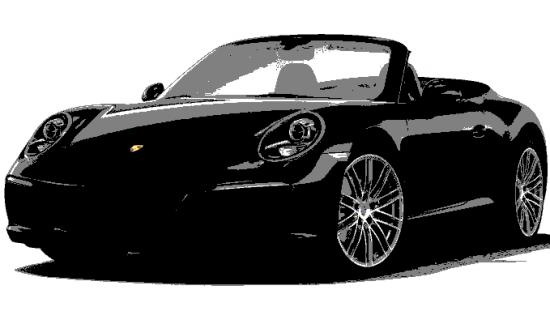 Porsche 911-Serie (alle) CARRERA CABRIO PDK ZWART NIEUW! XENON CAMERA