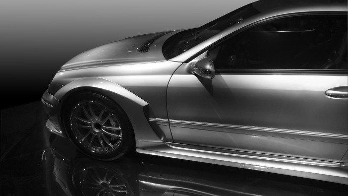 Afbeelding van een Mercedes