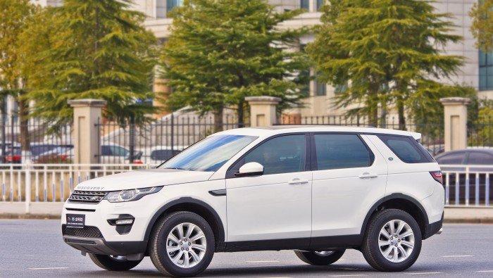 Afbeelding van een Land Rover