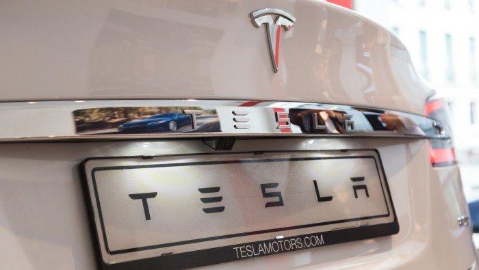 Afbeelding van een Tesla