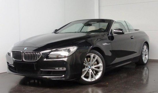 BMW 640 I CABRIO 3.0 BENZINE 320 PK