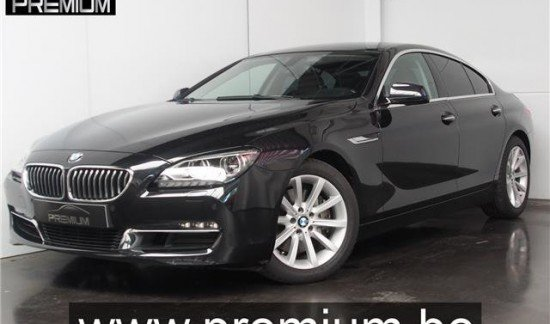 BMW 640 I GRAN COUPE 320 PK ZWART FULL