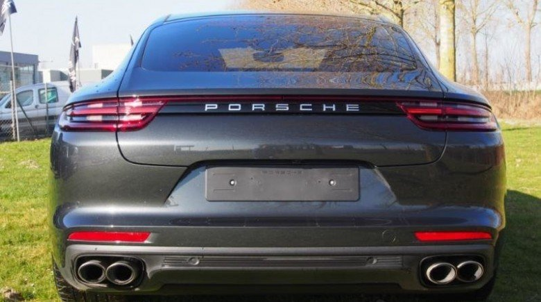 Porsche Panamera 4 E HYBRID 03-2018 ZWART LEDER