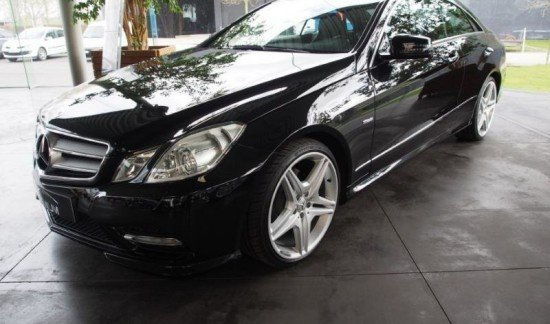Mercedes-Benz E 220 CDI BleuEFFICIANCY COUPE ZWART
