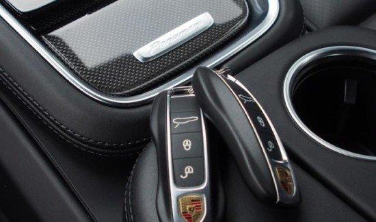 Porsche Panamera 4S ZWART 441PK LUCHTVERING LED