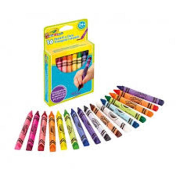 16 CERAS LAVABLES - Crayola