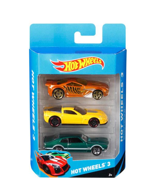 HW caja de 3 vehículos 10 m+ - Hot wheels
