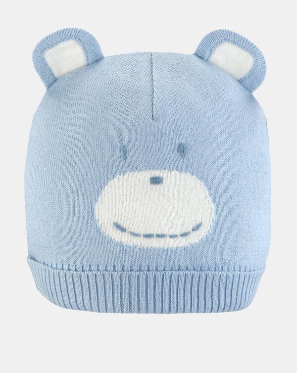 Gorro tricot azul - Prenatal 2