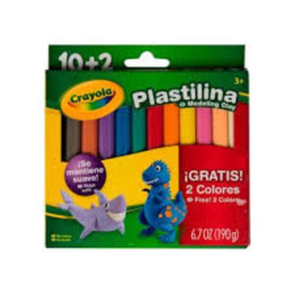 SET PLASTILINA 12 COLORES - Crayola