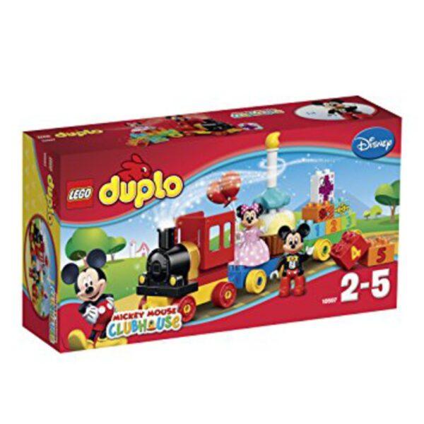 El trenecito del cumpleaños de Mickey y Minnie - Lego