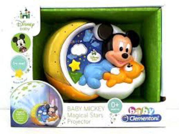 BABY MICKEY PROYECTOR ESTRELLAS MÁGICAS - Clementoni