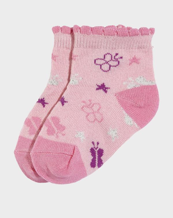Calcetín corto mariposas - Prenatal 2