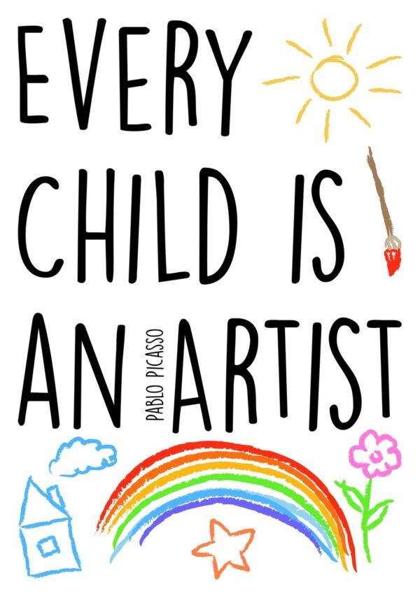 WORDS UP ARTIST - KidsDecor