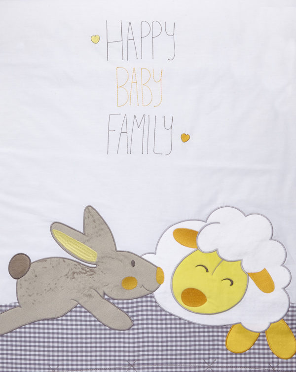 COLCHA ALGODÓN CUNA FUNNY - Prenatal 2