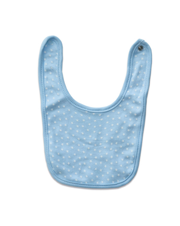 PACK 2 BABEROS ALGODÓN AZULES - Prenatal 2