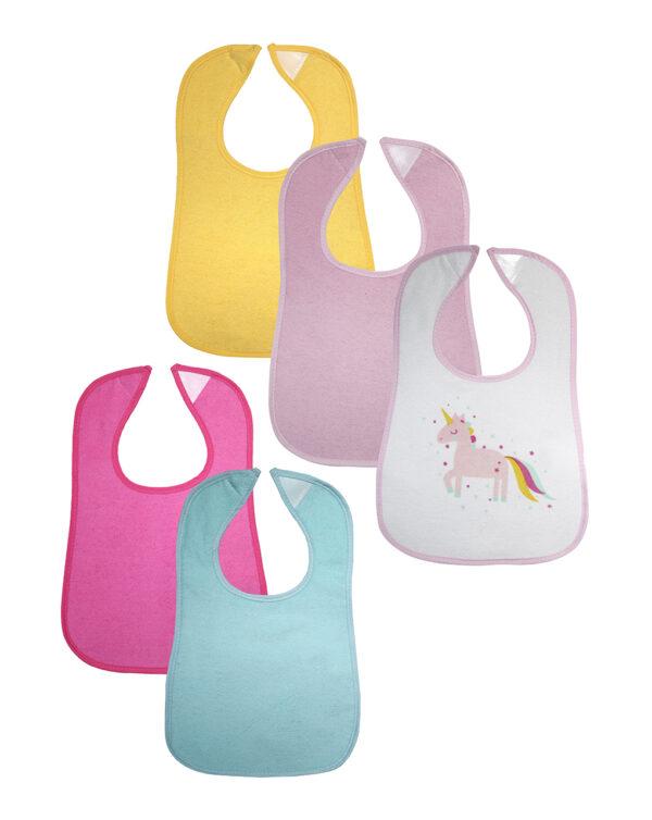 PACK 5 BABEROS PLASTIFICADOS - Prenatal 2