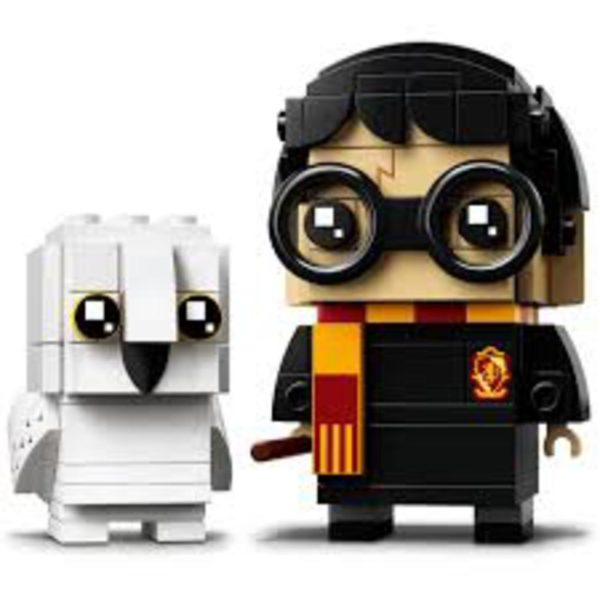 HARRY POTTER Y HEDWIG - Lego