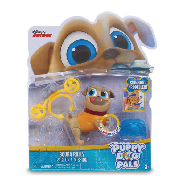BLÍSTER LIGHT UP PALS ON A MISSION - Bingo y Rolly