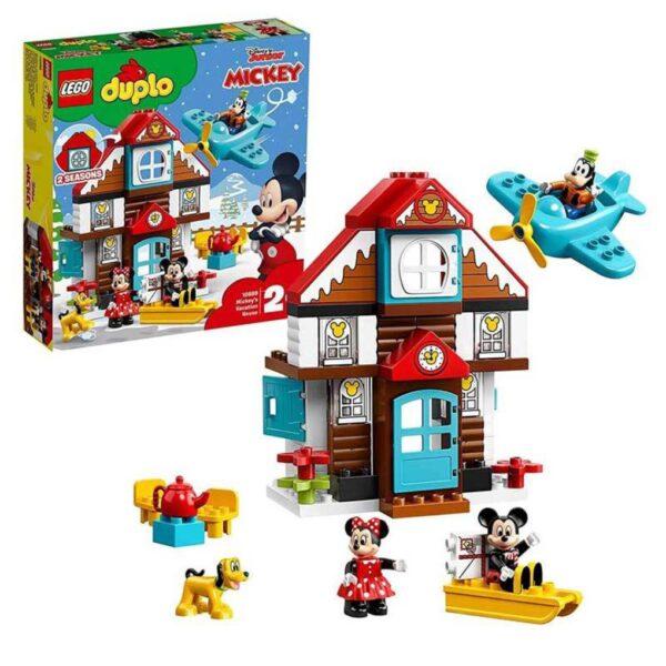 LA CASA DE VACACIONES DE MICKEY MOUSE - LEGO DUPLO
