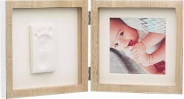 MARCO CUADRADO MADERA - Baby Art