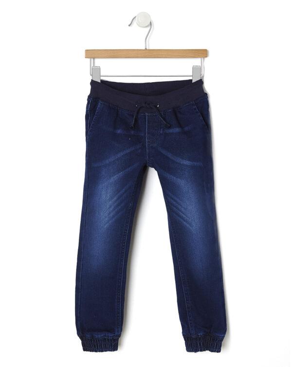 Pantalones vaqueros con goma en los tobillos - Prénatal