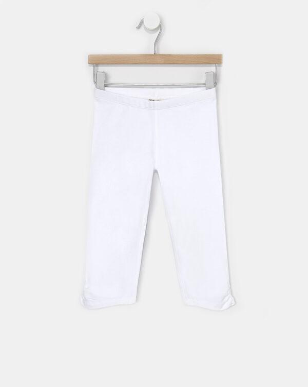 Legging 3/4 blanco - Prénatal