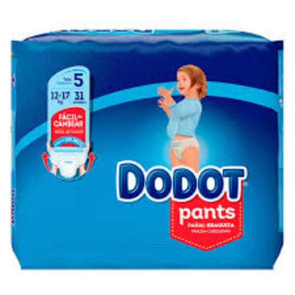 DODOT PANTS T5 (12-17KG) 31 UNIDADES - Dodot