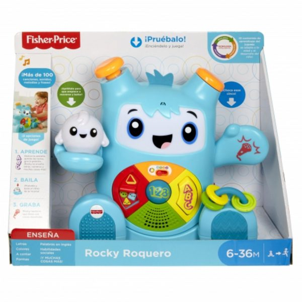 ROCKY ROQUERO - Fisher-Price