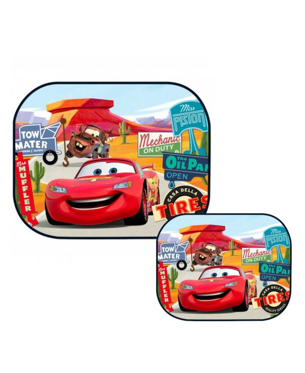 CORTINILLAS LATERALES CARS - Disney