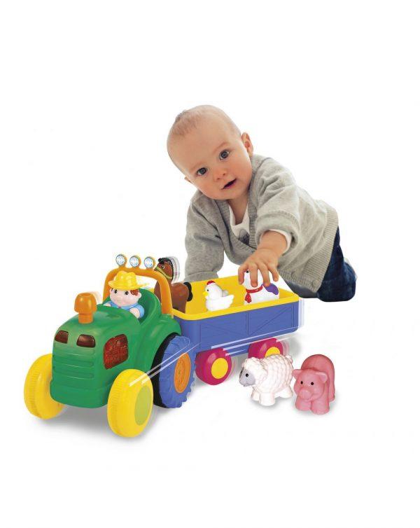 BABY SMILE TRACTOR CON REMOLQUE - Baby Smile