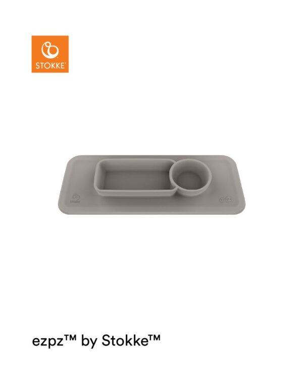 ezpz™ by Stokke™ Tapete para bandeja Clikk™ - Soft Grey - Stokke