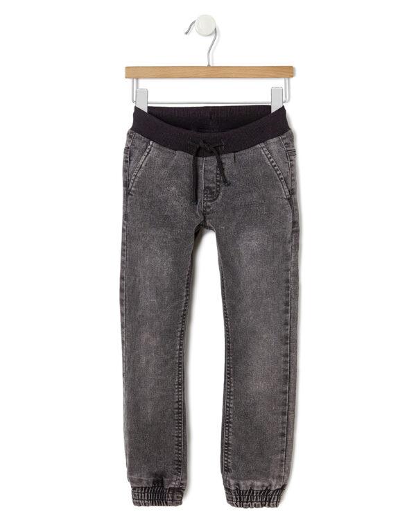 Pantalón vaquero con elástico en el tobillo - Prénatal