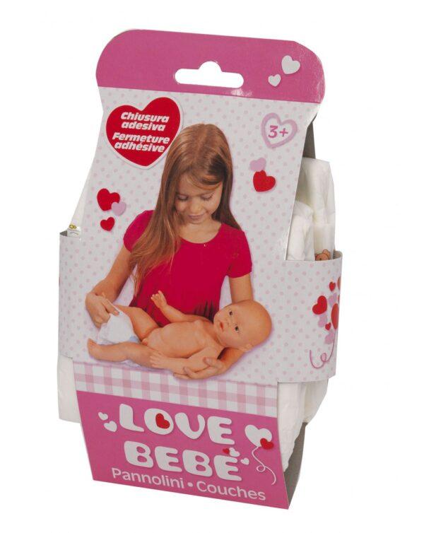PACK 3 PAÑALES - Love Bebè