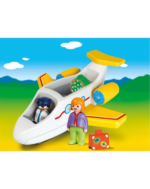 AEREO PASSEGGERI 1.2.3 - Playmobil