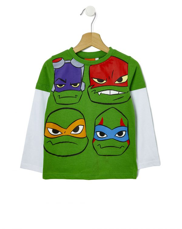 Camiseta con estampado de Tortugas Ninja - Prenatal 2
