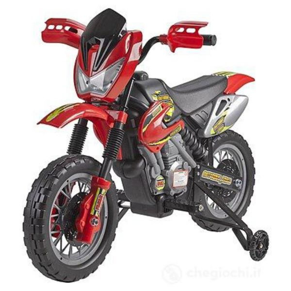 MOTORBIKE CROSS 6V - Feber