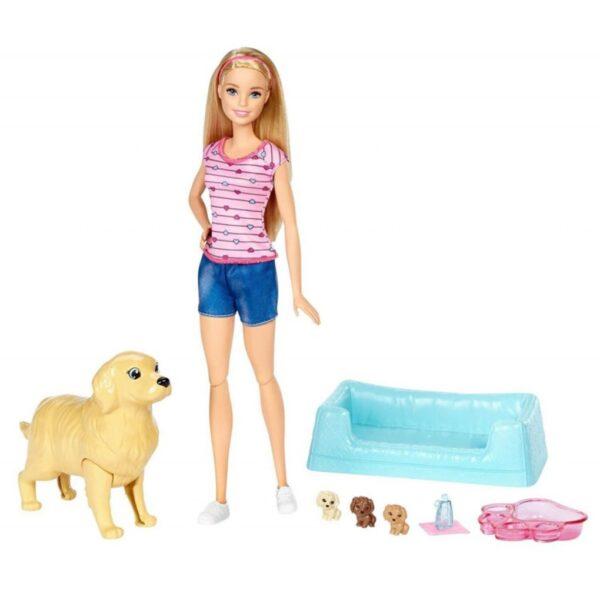 BARBIE Y SUS PERRITOS SORPRESA - Barbie
