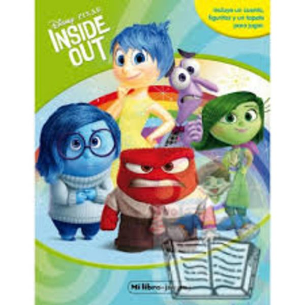 INSIDE OUT. MI LIBRO-JUEGO - Logista Libros SL