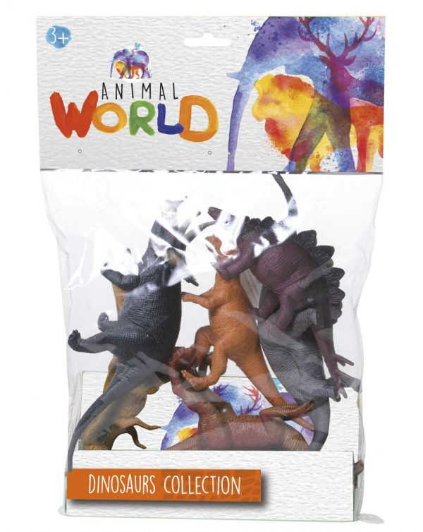 BOLSA MEDIA 6 ANIMALES - Animal World