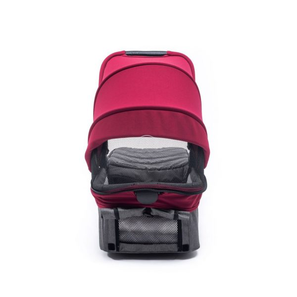 CAPAZO PARA EASYTWIN 4 CON PACK COLOR BORDEAUX - Baby Monsters